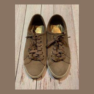 Michael Kors Suede Sneaker
